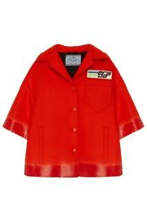 Красный жакет Prada