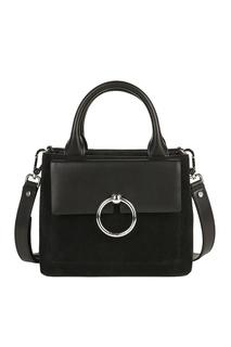Комбинированная черная сумка Claudie Pierlot