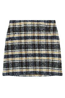 Контрастная мини-юбка Maje