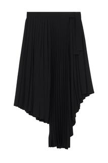Асимметричная юбка-плиссе Maje