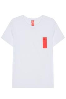 Белая футболка с контрастным принтом 404 NOT Found |