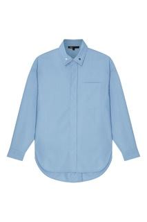 Голубая рубашка Maje