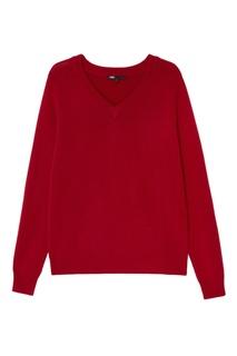 Красный пуловер Maje