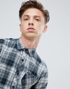 Рубашка в клетку Tokyo Laundry - Серый