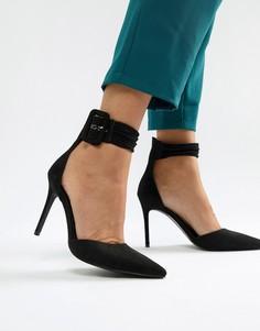 Туфли на высоком каблуке с острым носом Blink - Черный
