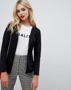Легкая куртка с поясом Lasula - Черный