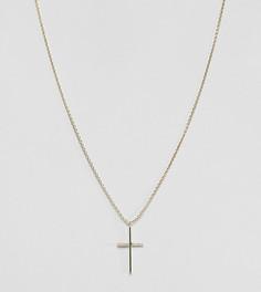 Серебряное позолоченное ожерелье с подвеской Kingsley Ryan - Золотой