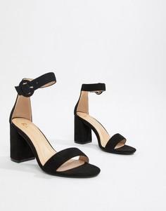 Босоножки на блочном каблуке RAID Genna - Черный