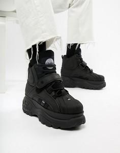 Черные кроссовки на толстой подошве Buffalo Classic - Черный