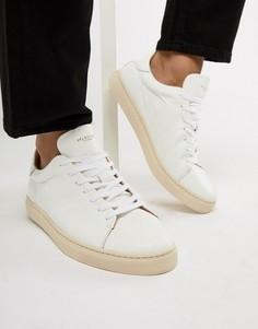 Белые кроссовки Selected Homme Premium - Белый
