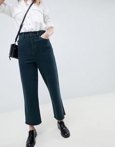 Фактурные зеленые джинсы с широкими штанинами ASOS DESIGN - Зеленый
