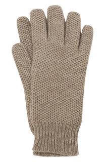 Кашемировые перчатки фактурной вязки TSUM Collection