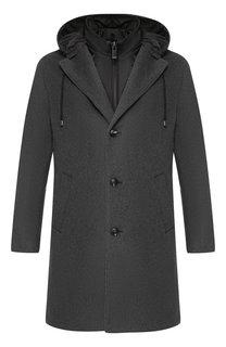 Пальто из смеси шерсти и кашемира с подстежкой Pal Zileri