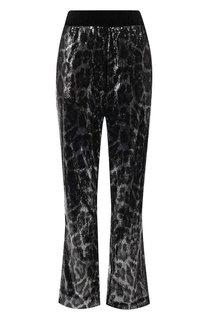 Укороченные брюки с пайетками RTA