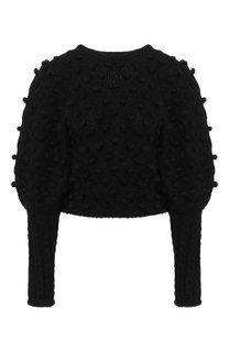 Вязаный пуловер с декоративной отделкой Zimmermann