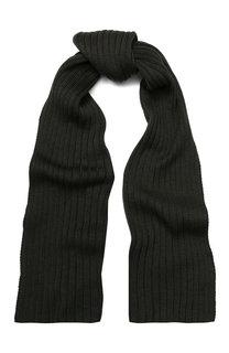 Шерстяной шарф фактурной вязки C.P. Company