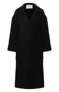Вязаное пальто с поясом Tak.Ori