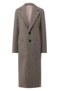 Пальто прямого кроя с накладными карманами Joseph