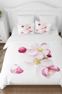 Постельное белье ЕВРО Распустившиеся цветы Сирень