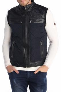 Leather Vest GIORGIO DI MARE