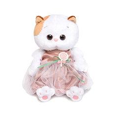 Мягкая игрушка Budi Basa Кошечка Ли-Ли Baby в платье с леденцом, 20 см