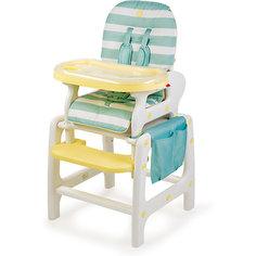 Стульчик для кормления Happy Baby Oliver, aqua