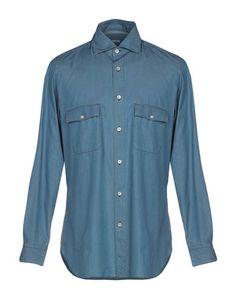 Джинсовая рубашка Malo