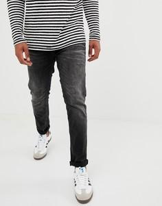 Узкие черные джинсы Jack and Jones Jeans - Черный