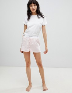 Розовые пижамные шорты Calvin Klein - Мульти