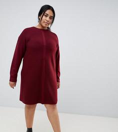 Вязаное платье мини ASOS DESIGN Curve - Красный