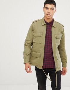 Рабочая куртка Only & Sons - Зеленый