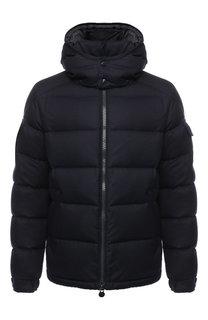 Пуховая куртка Mongenevre на молнии с капюшоном Moncler