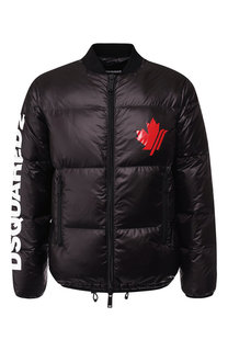 Пуховая куртка на молнии Dsquared2