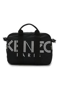 Текстильная дорожная сумка с плечевым ремнем Kenzo