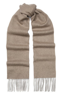 Кашемировый шарф с бахромой TSUM Collection