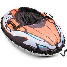 "Санки-тюбинг с сиденьем Small Rider ""Asteroid Sport"", оранжевые"