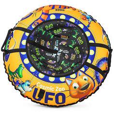 "Санки-тюбинг Small Rider ""UFO"" CZ, оранжевый тигрёнок"
