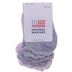 Носки, 3 пары Original Marines для девочки