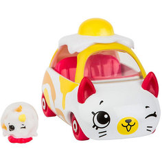 "Машинка Moose ""Cutie Car"" Яичница с фигуркой Shopkins, 3 сезон"