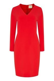 Красное платье миди The Dress