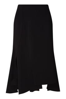 Черная юбка миди Adolfo Dominguez