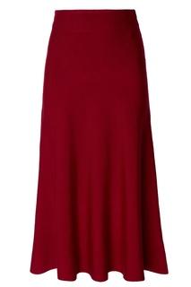 Бордовая юбка Adolfo Dominguez