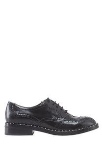 Кожаные ботинки Wing черные Ash
