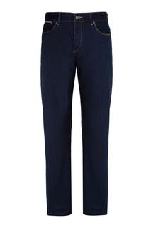 Зауженные синие джинсы Hugo Boss