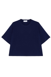 Синяя футболка oversize D.O.T.127