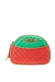 Стеганая цветная сумка Gucci