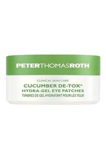 Гидрогелевые патчи для области вокруг глаз CUCUMBER DE-TOX™, 60 шт Peter Thomas Roth