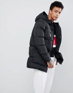 Черная дутая куртка Criminal Damage - Черный
