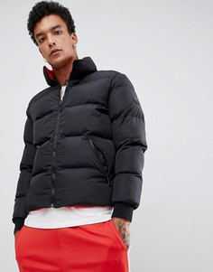 Черная двусторонняя дутая куртка Criminal Damage - Черный