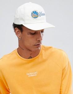 Бейсболка в винтажном стиле с логотипом Golden State Warriors Mitchell & Ness эксклюзивно для ASOS - Белый